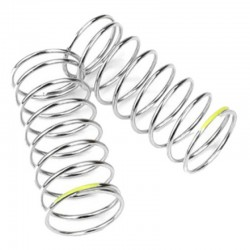 Tekno Shock Spring Set (front 1.3x8.5 3.41lb/in 45mm yellow) [TKR6785]