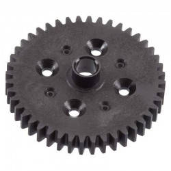 R/C Spur Gear 44t Black Composite