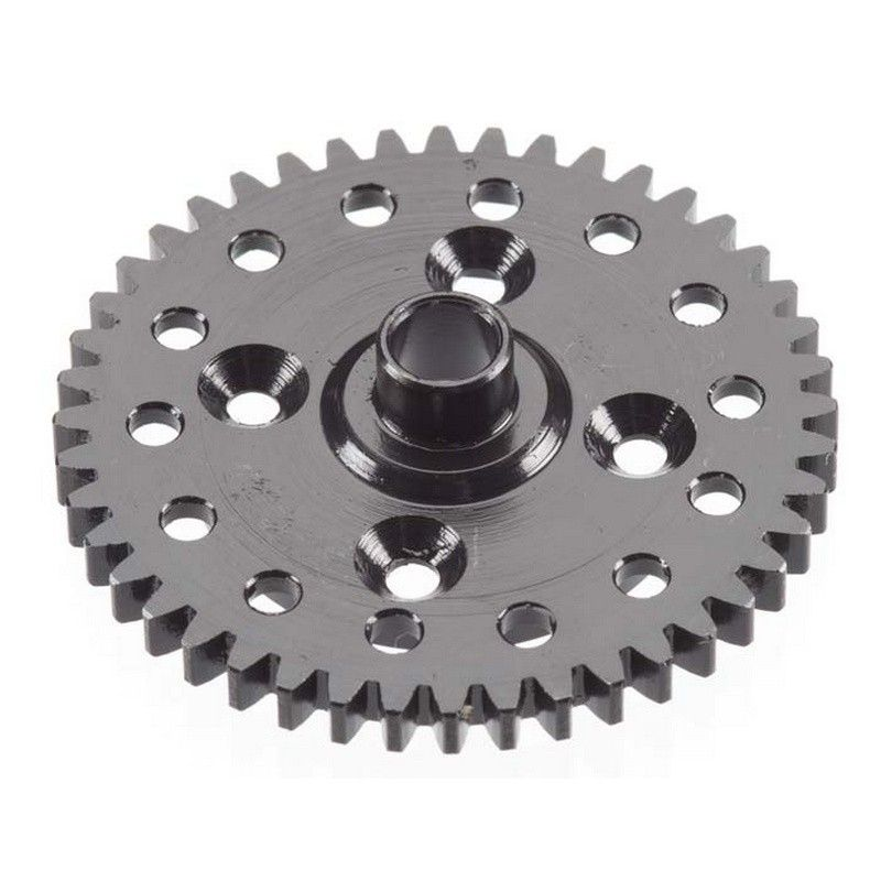 R/C Spur Gear 44T Hardened Stl/Lghtd/EB48/SCT410