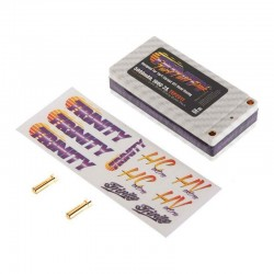2S 7.4v 5000mah 100C Turf Tuff Shorty Pack with 5MM Bullets for