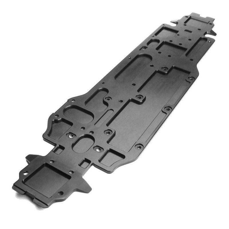Chassis 7075 Black Anodized Lightened