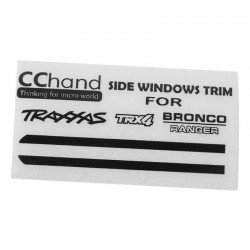 Front Side Window Trim for Traxxas TRX-4 79 Bronco Ranger XLT