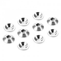 aluminum countersunk shim for ball stud 10