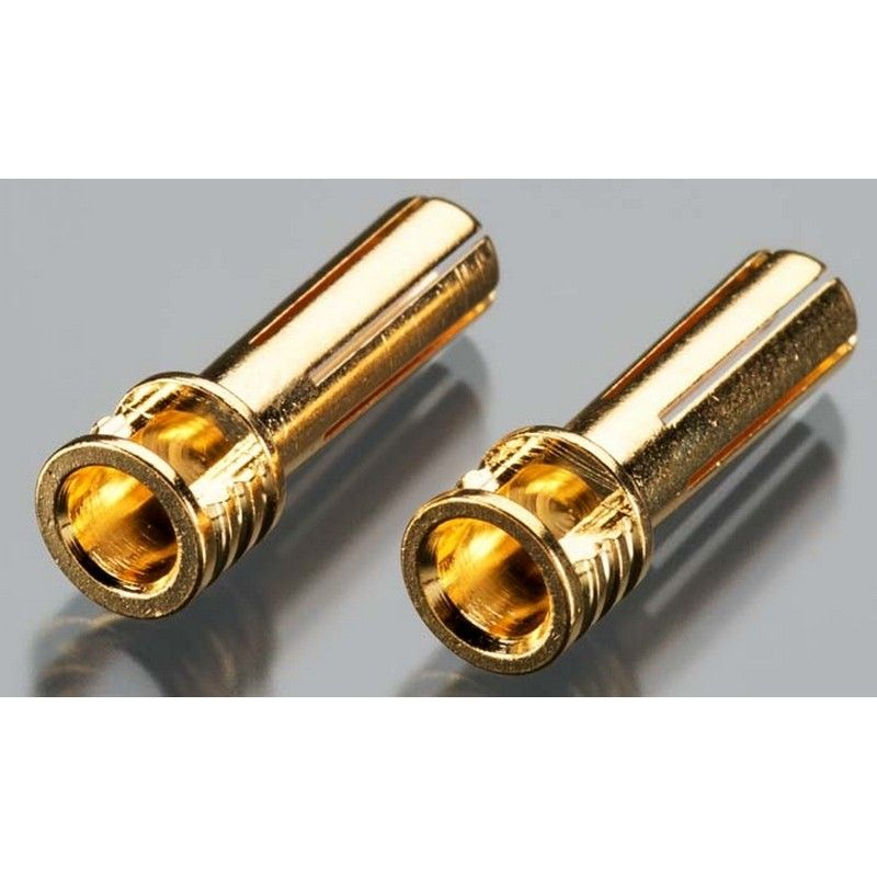 5mm Bullet Connector 6-Point Flat Top