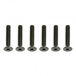 4-40x5/8in FHCS Flat Head Cap Screws (6)