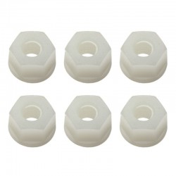 RC-10 8-32 Nuts White