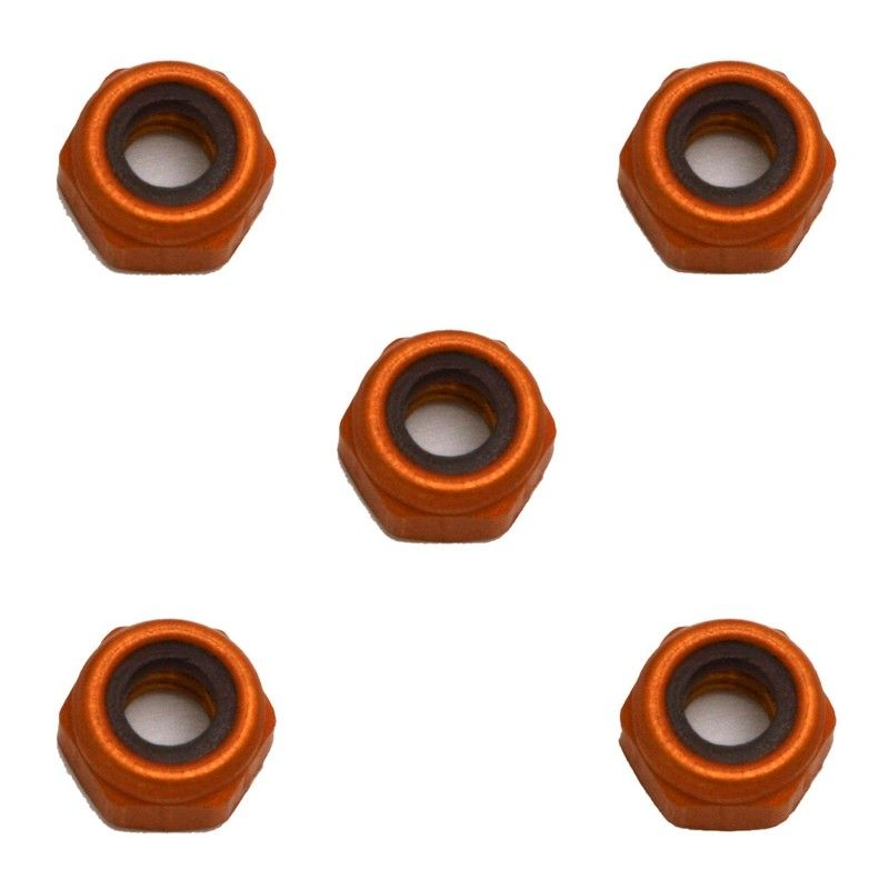 Aluminum Locknuts 4-40 small pattern