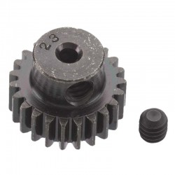 23T Mod 0.5 Hardened Steel Pinion Gear 2mm Bore