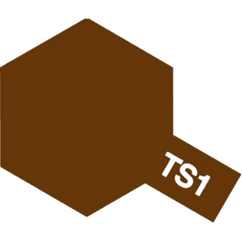 Lacquer Spray Paint Ts-1 Red Brown - 100ml Spray Can