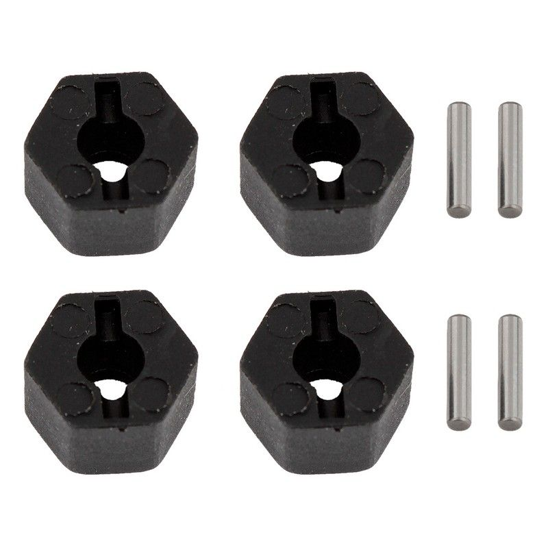 CR12 Wheel Hexes and Pins Set