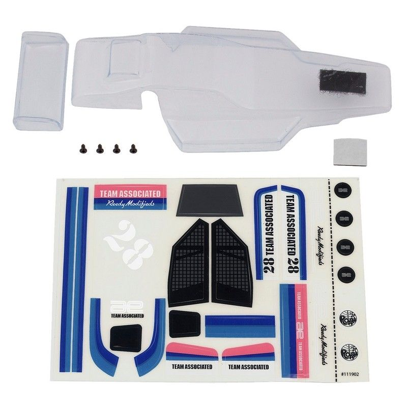 RC28 Buggy Body clear