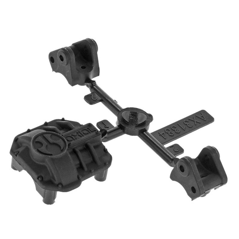 AR44 Diff Cover & Link Mounts Black