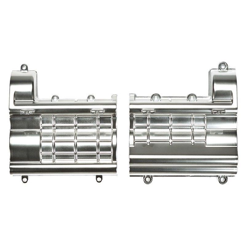 RC Matte Plated Gearbox - For Tractor Truck