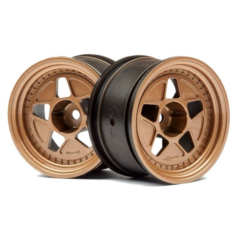 Tarmac R40 Wheel Bronze 52x31mm 10mm Offset 2 pieces for RS4 Spo