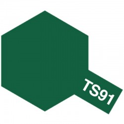 Lacquer Spray Paint, Ts-91 Dark Green Jgsdf - 100ml Spray Can