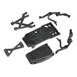 Racing Front Skid Plate Set