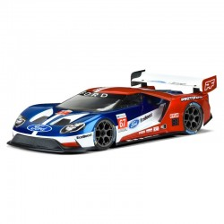 Ford Gt Clear Body for 190mm Tc