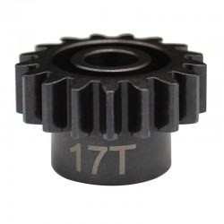 17t Mod 1.5 Hardened Steel Pinion Gear 8mm Bore
