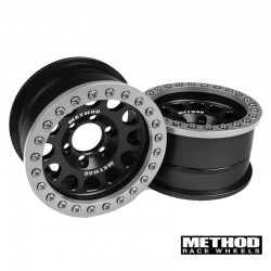 Method 1.9 Race Wheel 105 Black/Clear Anodized