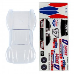 Body Clear w/Lucas Oil Decal SC28
