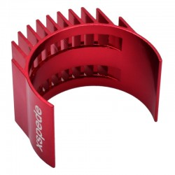 Red Clip-On Motor heatsink fits 36mm motors