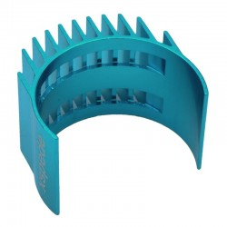 Light Blue Clip-On Aluminum 540 550 Motor heatsink