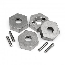 Hex/Pin Set 17mm (4)