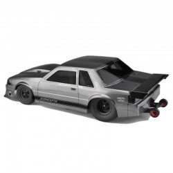 1991 Ford Mustang Fox Clear Body 10.75 & 13 inch WB