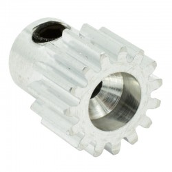 14T Mod 0.5 Aluminum Pinion Gear 2mm Bore
