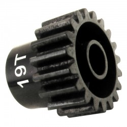 19T 32P (Mod 0.8) Steel Pinion Gear 5mm Bore