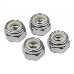 5mm Non-Flanged Wheel Nuts (4)