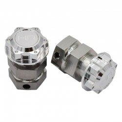 Silv Aluminum +13mm Hex Hub Extensions