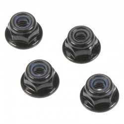 Flange Lock Nuts 4mm (4)