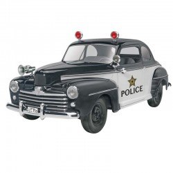1/25 48 Ford Police Coupe 2 n 1