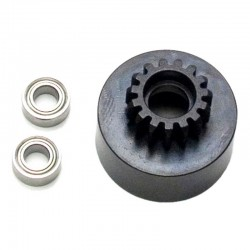 1/8 Clutch Bell (15t Mod1 Hard W/Bearing)