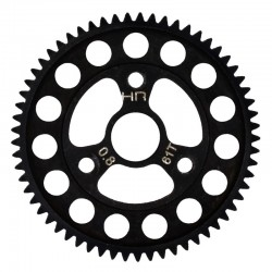 Steel Super Duty 32P 61T Spur Gear