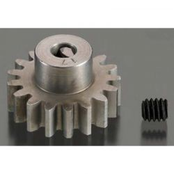 17T 32P (Mod 0.8) Super Hard Absolute Steel Pinion Gear 1/8 Bore