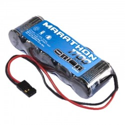 ORI12242 Marathon 1700mAh NiMh 5C Flat Rx Pack with Univ Battery