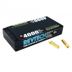 2S 7.6v 4000mah 55c LCG Modified Motor Graphene LiPo Hi-Voltage