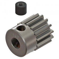 14T 48P Steel Pinion Gear 1/8 Bore