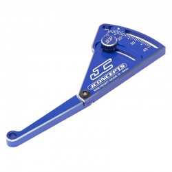Aluminum Ride Height Gauge 10-40mm Blue