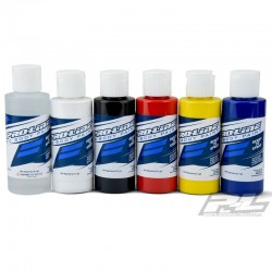 RC Paint Primary Color Set -Rdc Wht Blk Rd Ylw Bl