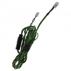 5mm Green Airplane LED 39 inch wire length