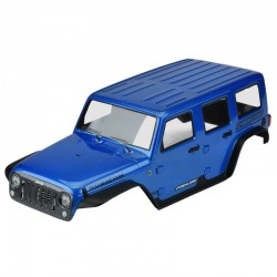 Pre-Painted/Pre-Cut Jeep Wrangler Rubicon (Blue) 12.8 TRX4