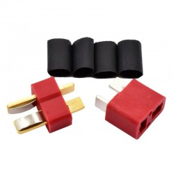2-Pin Ultra Plug Male/Female Set