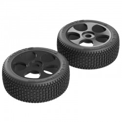 AR550012 Exabyte BGY 6S Tire/Wheel Glued Black 2