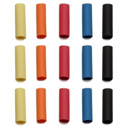 Shrink Tubing 15pcs (3pcs/color)