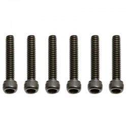 Socket Head Cap Screw 4-40x5/8 inch (6)