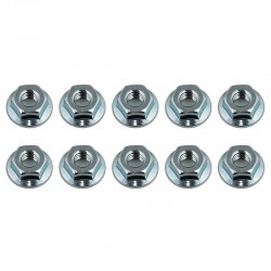 Nuts M4 Serrated Wheel Nuts