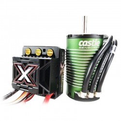 1/8 Monster X ESC w/1800KV Sensored Motor 010014505